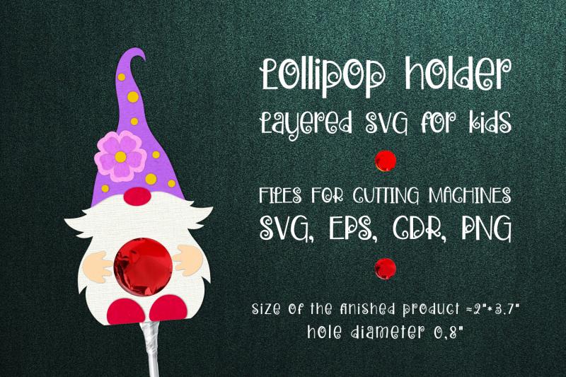 spring-gnome-lollipop-holder-template-svg
