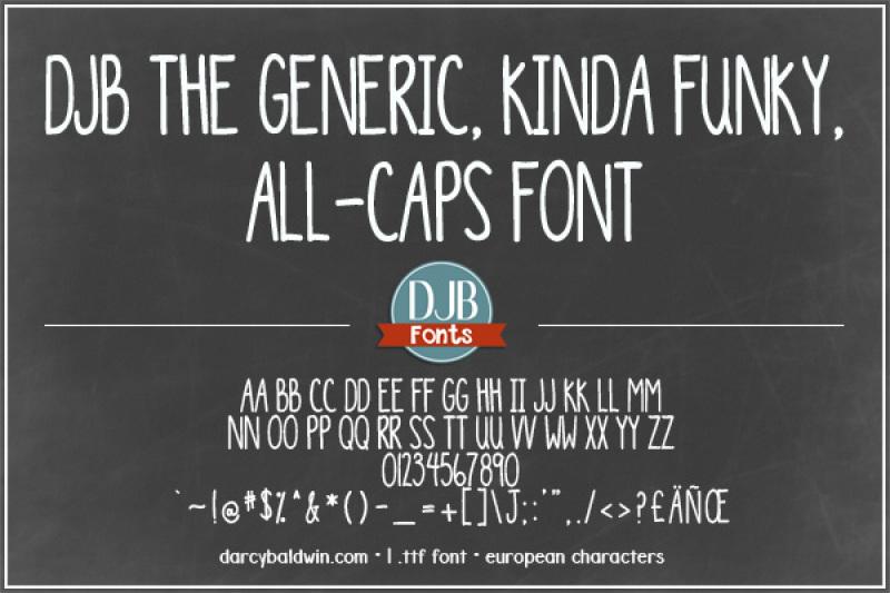 djb-the-generic-font