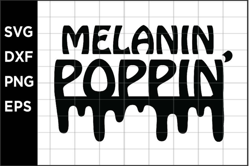 melanin-poppin-svg
