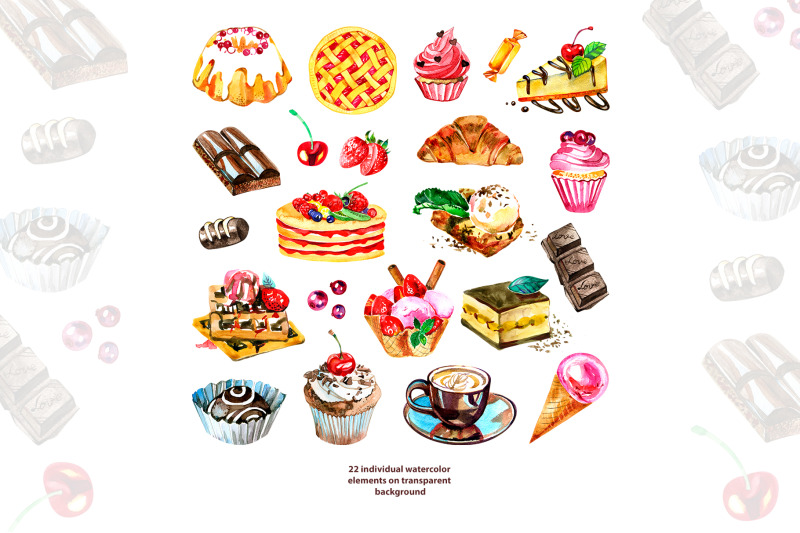 watercolor-sweets-clipart