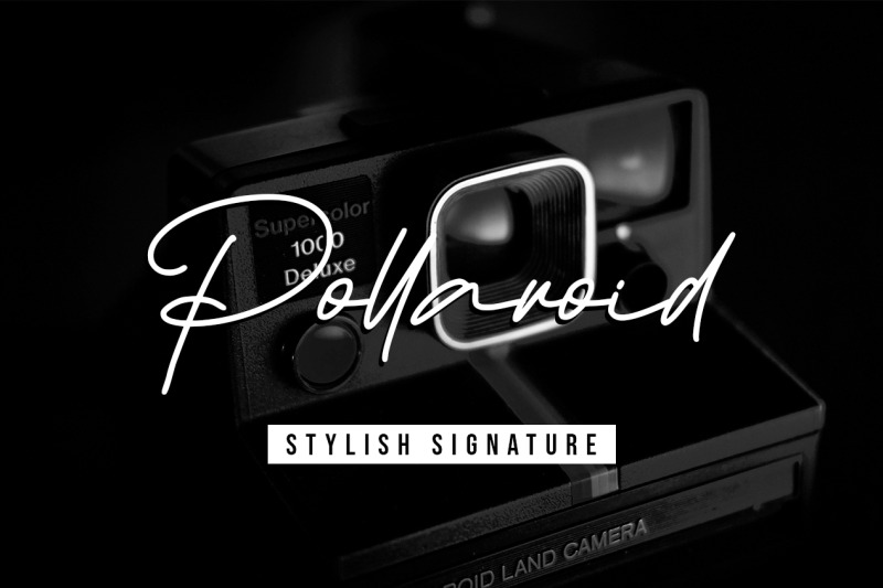 pollaroid-stylish-signature-font