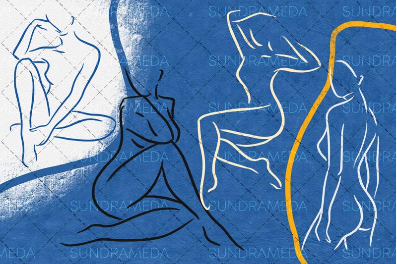 line-figure-body-brush-procreate