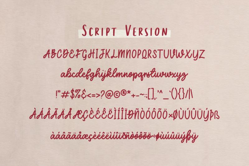 secret-admirer-handwritten-font-duo