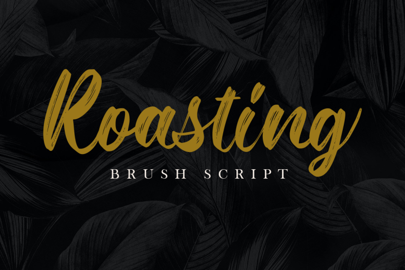 roasting-brush-script-font