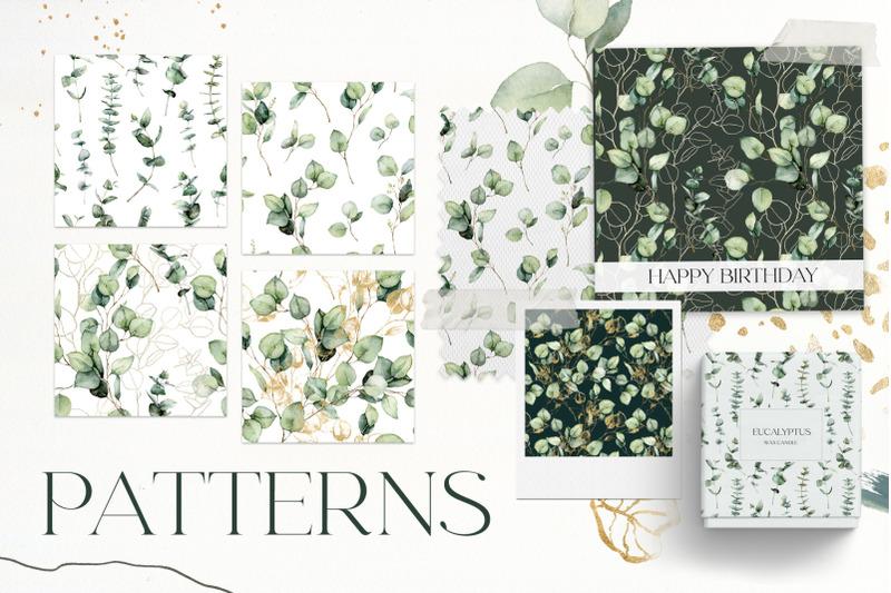 eucalyptus-watercolor-abstract-floral-clipart