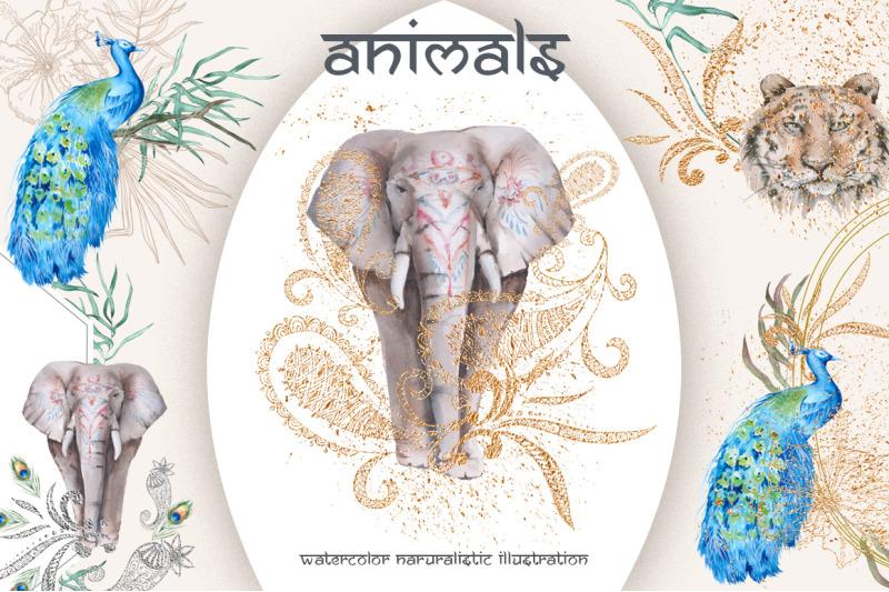 india-watercolor-set
