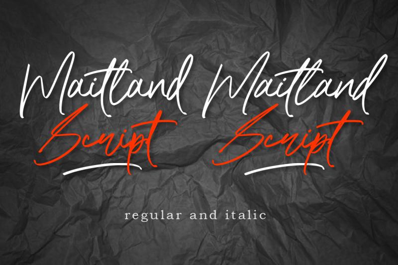 maitland-script