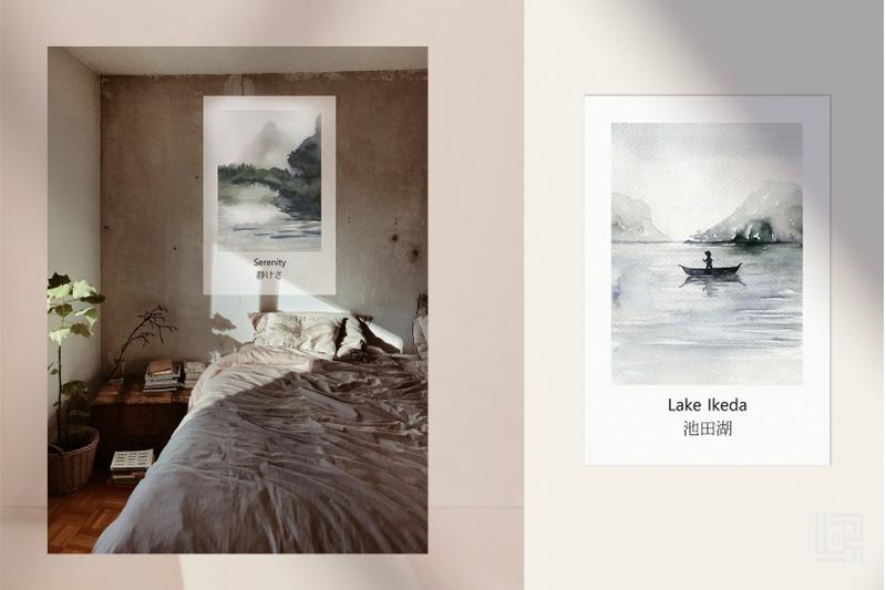 japan-watercolor-map-amp-posters