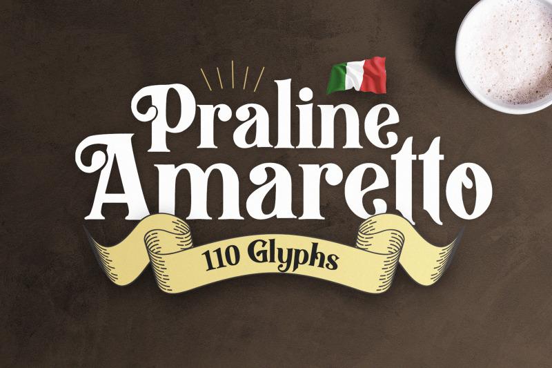praline-amaretto-vintage-font