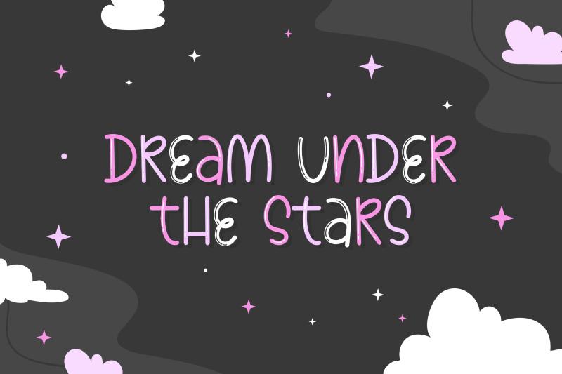 constellation-font-kids-fonts-cute-fonts-space-fonts