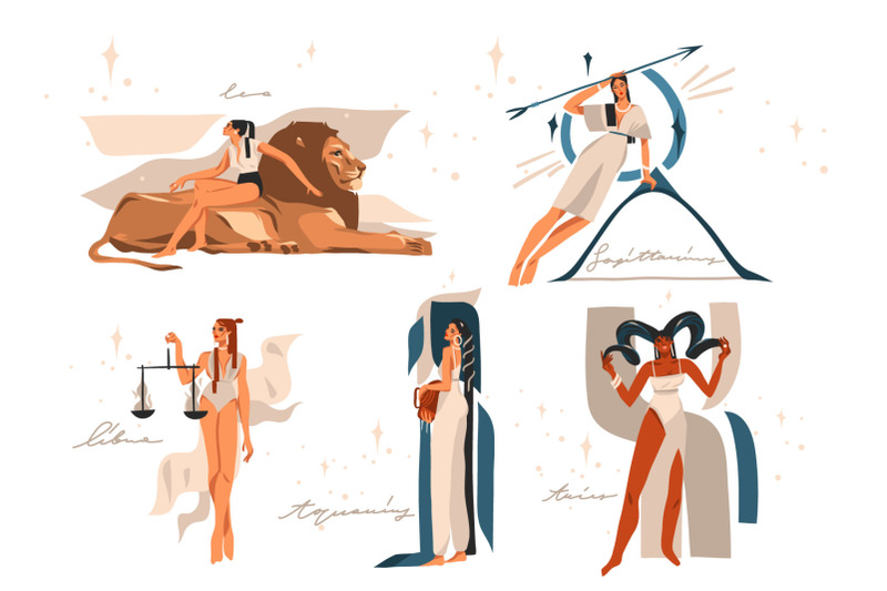zodiac-collage-clipart
