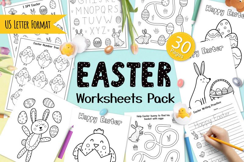 easter-worksheets-pack