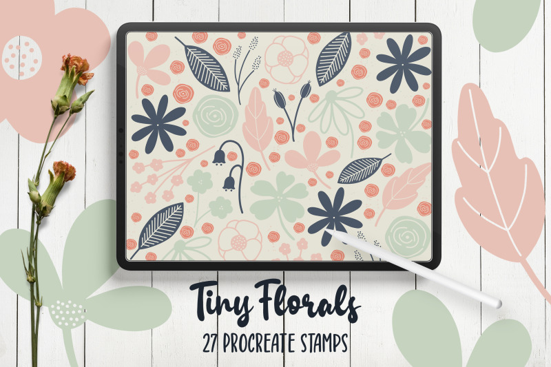 hand-drawn-florals-procreate-stamps