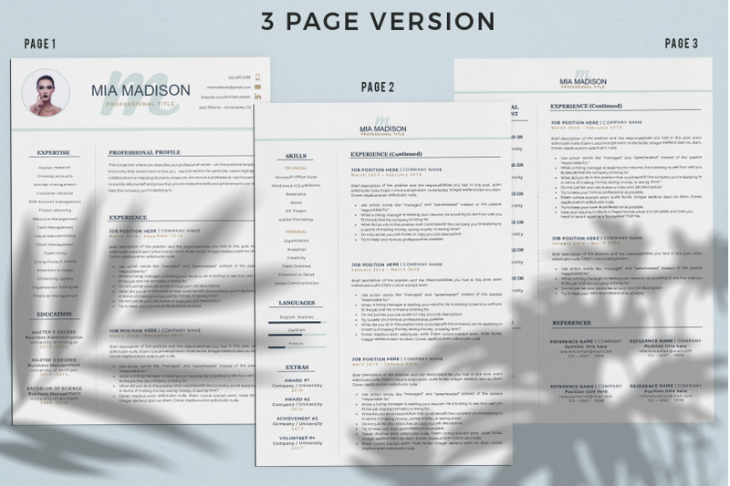 cover-letter-format-and-resume-template-with-photo-creative-resume-wi