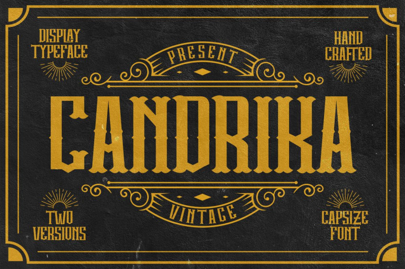 candrika-vintage-label-display-typeface