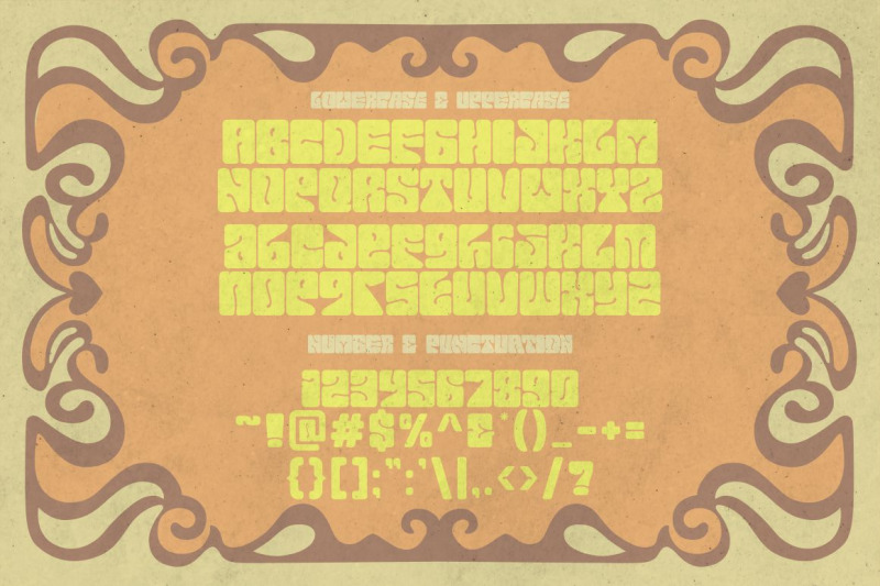 euphoria-party-psychedelic-style-font