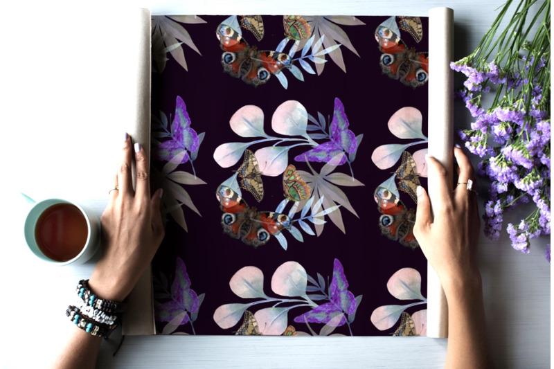 butterflies-digital-paper-seamless-pattern
