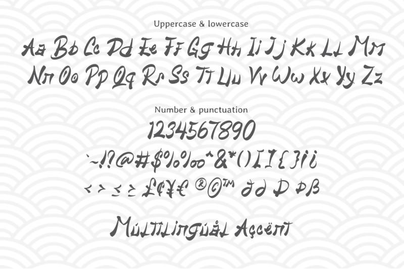 hiany-lau-chinese-display-font