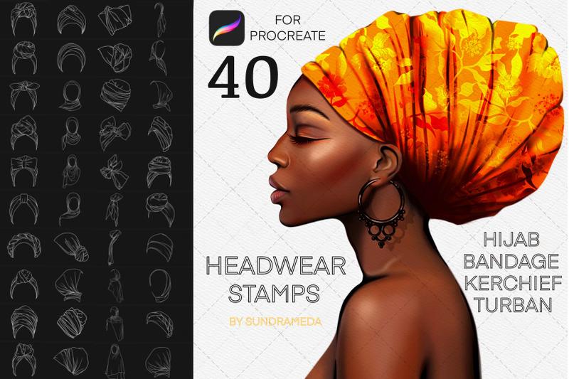 headwear-procreate-brush-stamp-hats