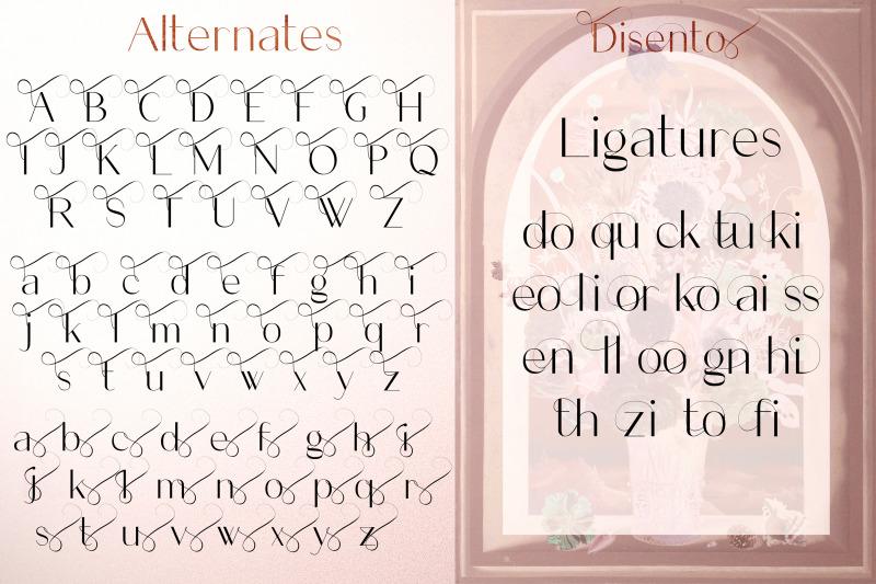 disento-sensual-ligature-sans-serif-typeface