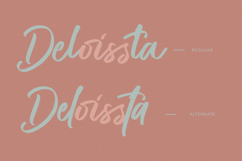 deloissta-script-font