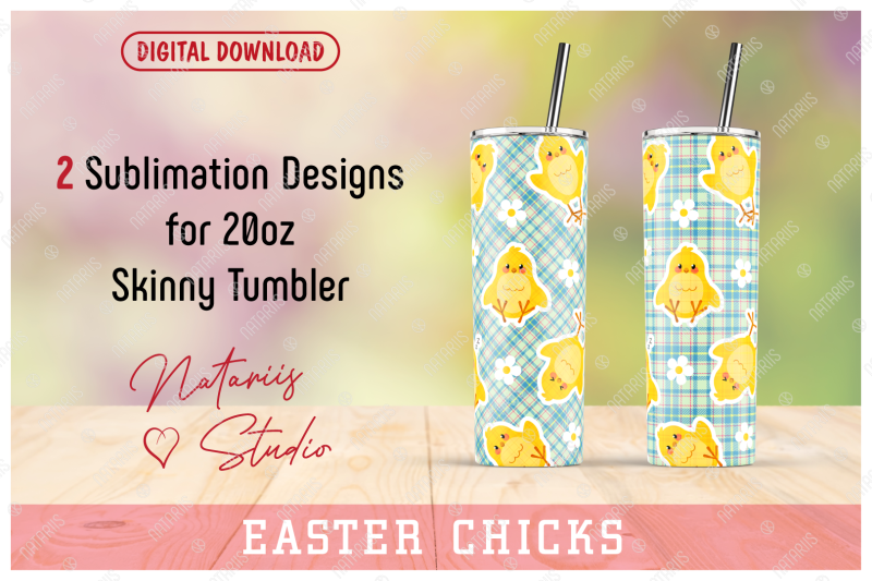 2-funny-chicks-patterns-for-20oz-skinny-tumbler