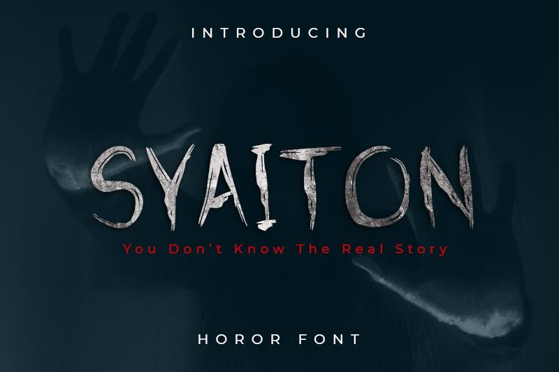 syaiton-horor-fonts