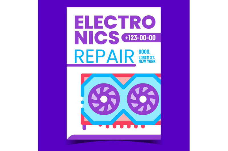 electronics-repair-service-promotion-banner-vector