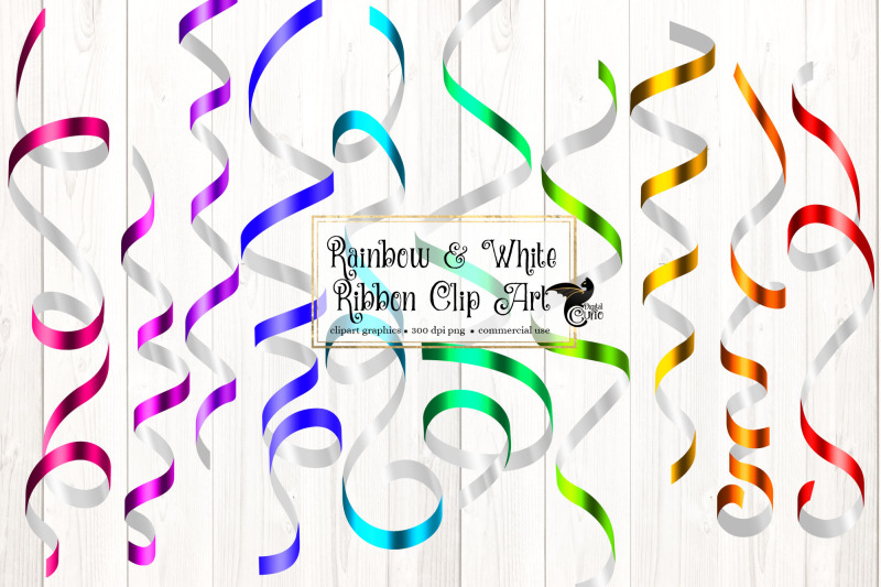 rainbow-and-white-ribbon-clipart