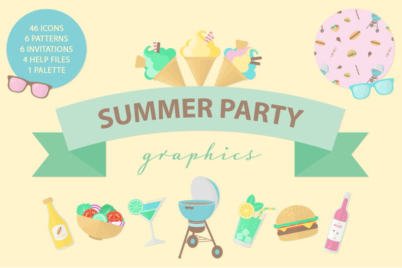 summer-party-graphics
