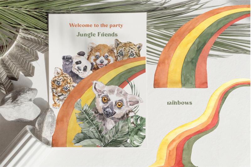 jungle-cuties-tropical-baby-animals-watercolor-set
