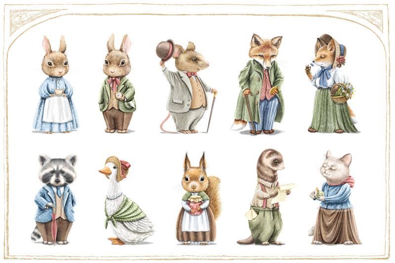vintage-animals