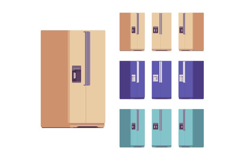 refrigerator-fridge-kitchen-appliance-bundle