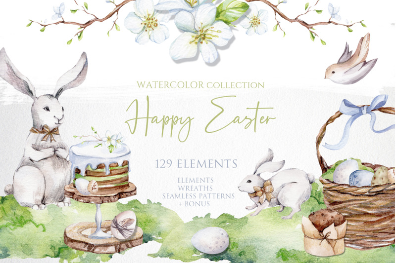 watercolor-easter-collection