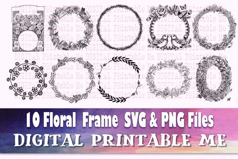 clip-art-frames-flower-svg-set-border-10-images-round-floral-oval