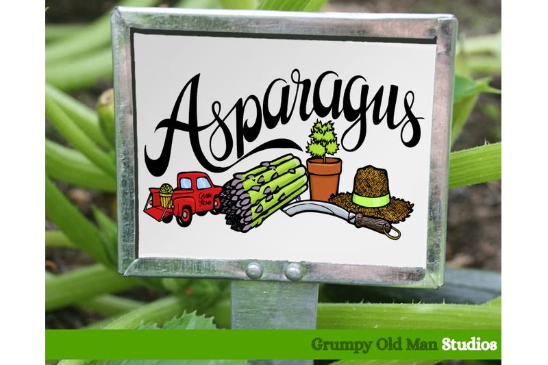 asparagus-vegetables-garden-labels