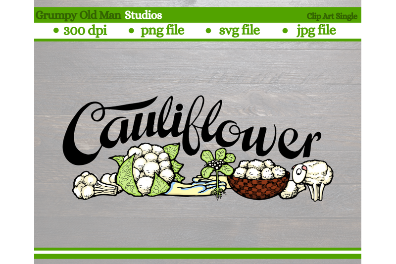 cauliflower-vegetables-garden-labels