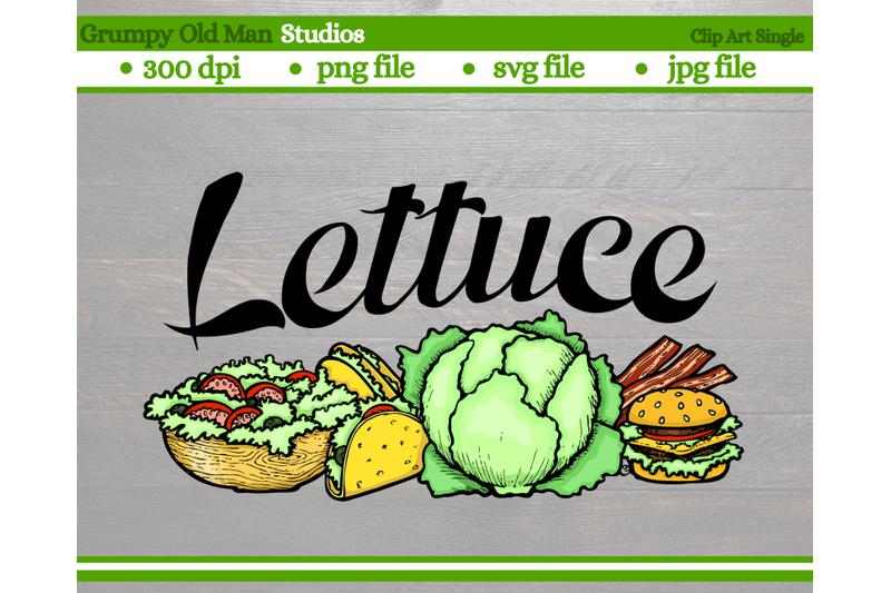 lettuce-vegetables-garden-labels