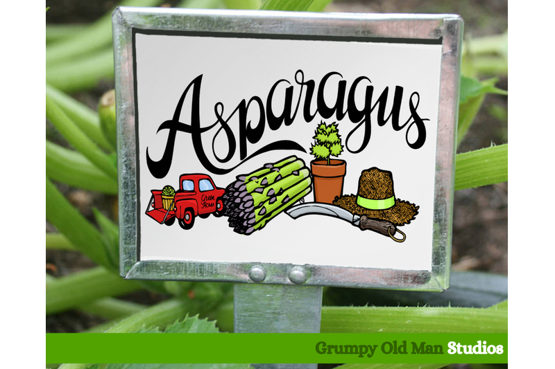 asparagus-vegetables-garden-labels