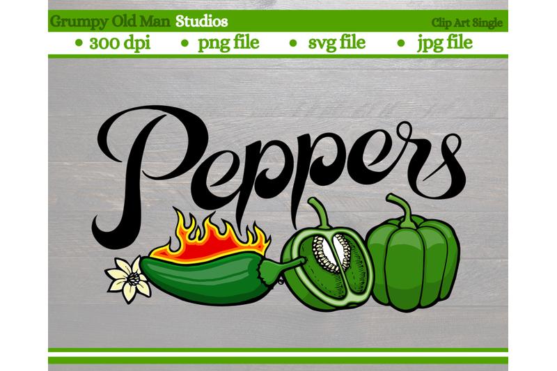 green-peppers-jalapeos-vegetables-garden-labels