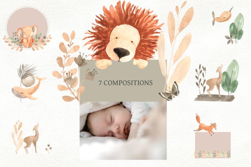 nursery-boho-style-animal-decor