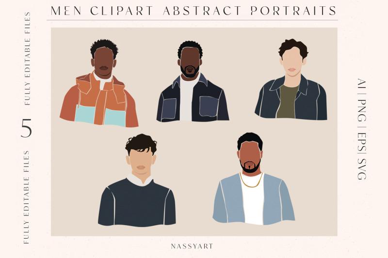 men-portrait-fashion-cliparts