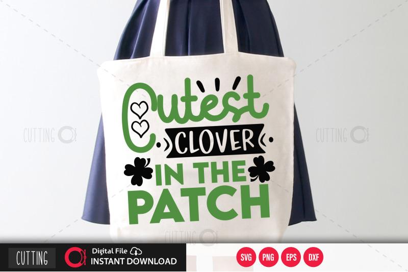cutest-clover-in-the-patch-svg