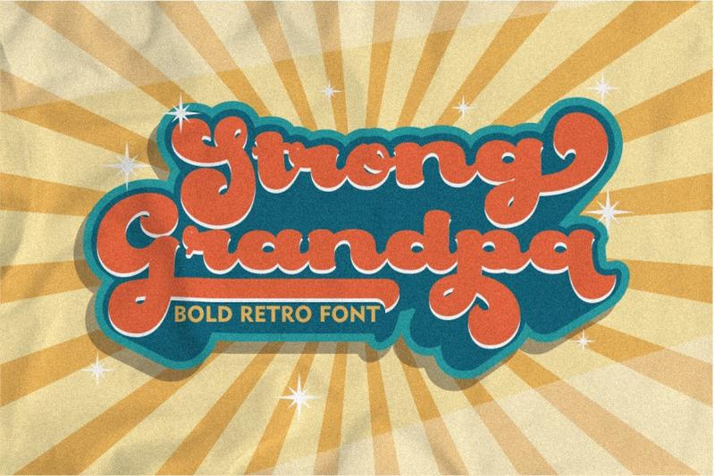 strong-grandpa-bold-retro-font