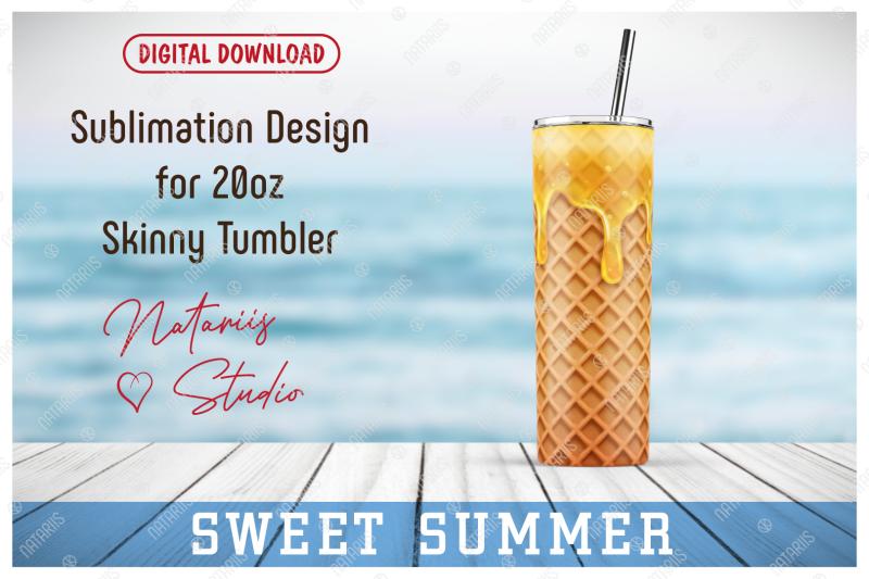 realistic-ice-cream-pattern-for-20oz-skinny-tumbler