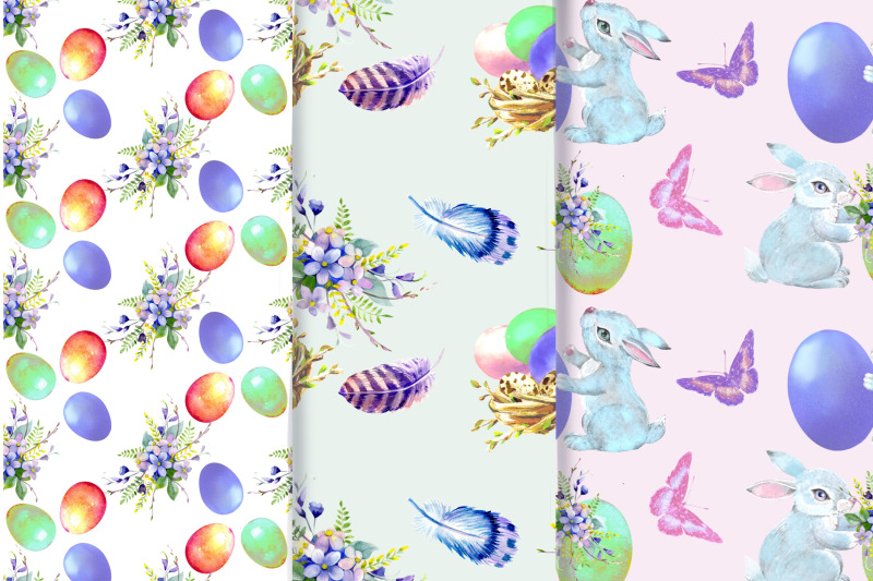 easter-watercolor-clipart-easter-cute-bunny