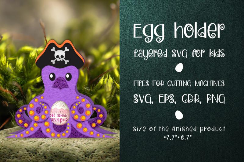 octopus-chocolate-egg-holder-template-svg