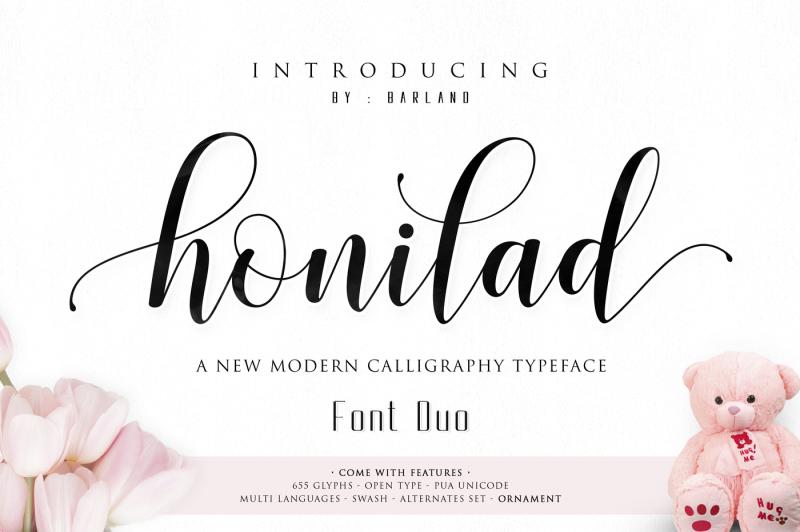 honilad-script-font-duo