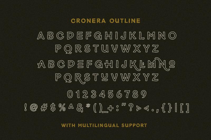 cronera-handcrafted-typeface