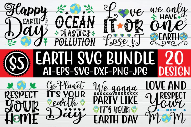 earth-svg-bundle